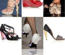 Diseños de zapatos para 2009