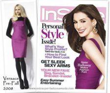 Anne Hathaway en portada de InStyle julio 2008