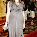 vestidos de fiesta elegantes de famosas embarazadas 4