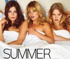 Kate Moss, Daria Werbowy y Lara Stone se desnudan para W Magazine de Julio